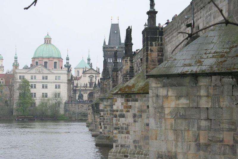 Praha, Karluv most (Charles Bridge).
