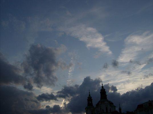 Praha sky