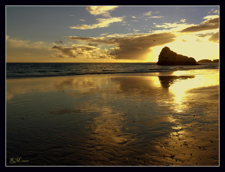 Praia da Rocha reflexões