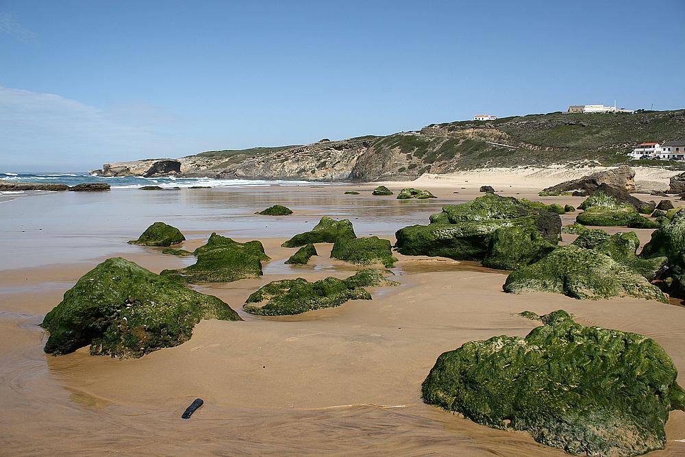 Praia de Monte Clérigo bei Ebbe.