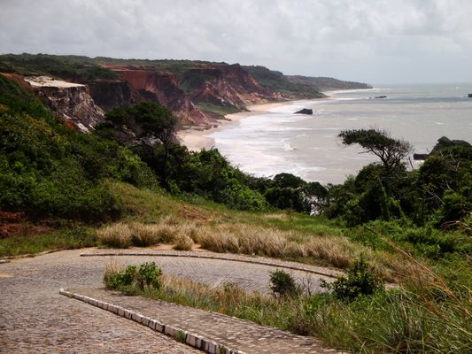 Praia de Tambaba Joao Pessoa Paraiba Brasil