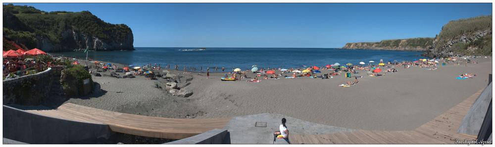 Praia dos Moinhos (Sao Miguel, Azoren)