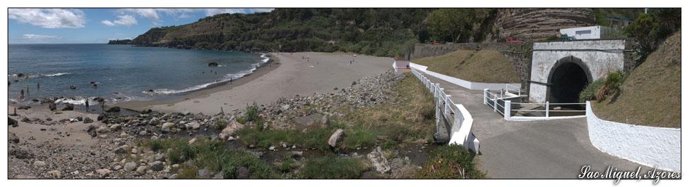 Prainha de Agua d'Alto (Sao Miguel, Azoren)