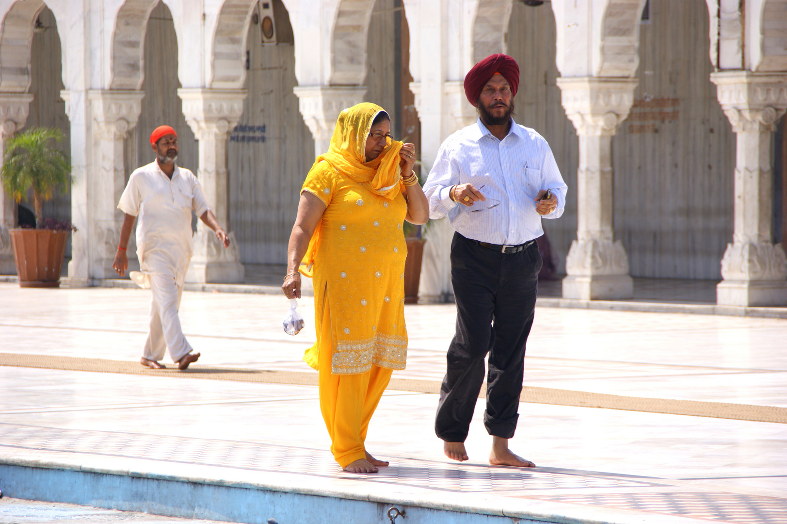 Praktizierender Sikh
