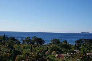Pramousquier vue sur la méditerranée