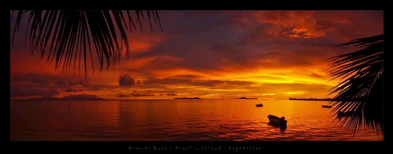 Praslin Sunset - Seychelles 2010