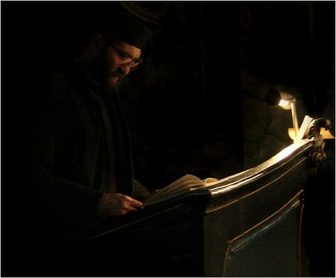 Pray Of The Monk