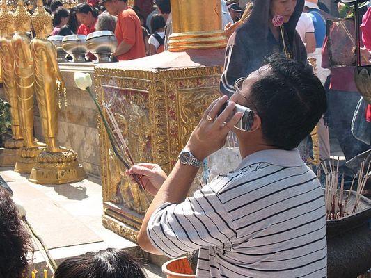 Pray to Budda  -  Direkter Draht nach oben