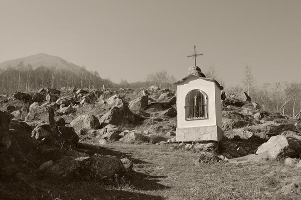 praying in Val Sangone