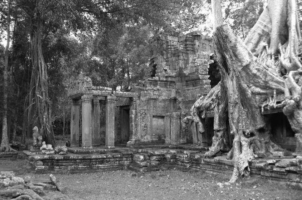 Preah Khan ...die Zeit  (Weltkulturerbe Angkor Wat)