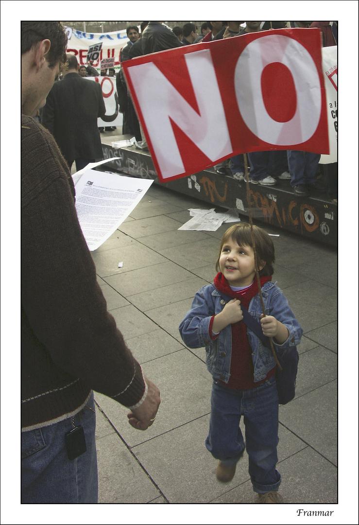Prematura protesta