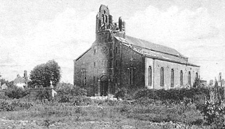 Prémesques - Die Kirche
