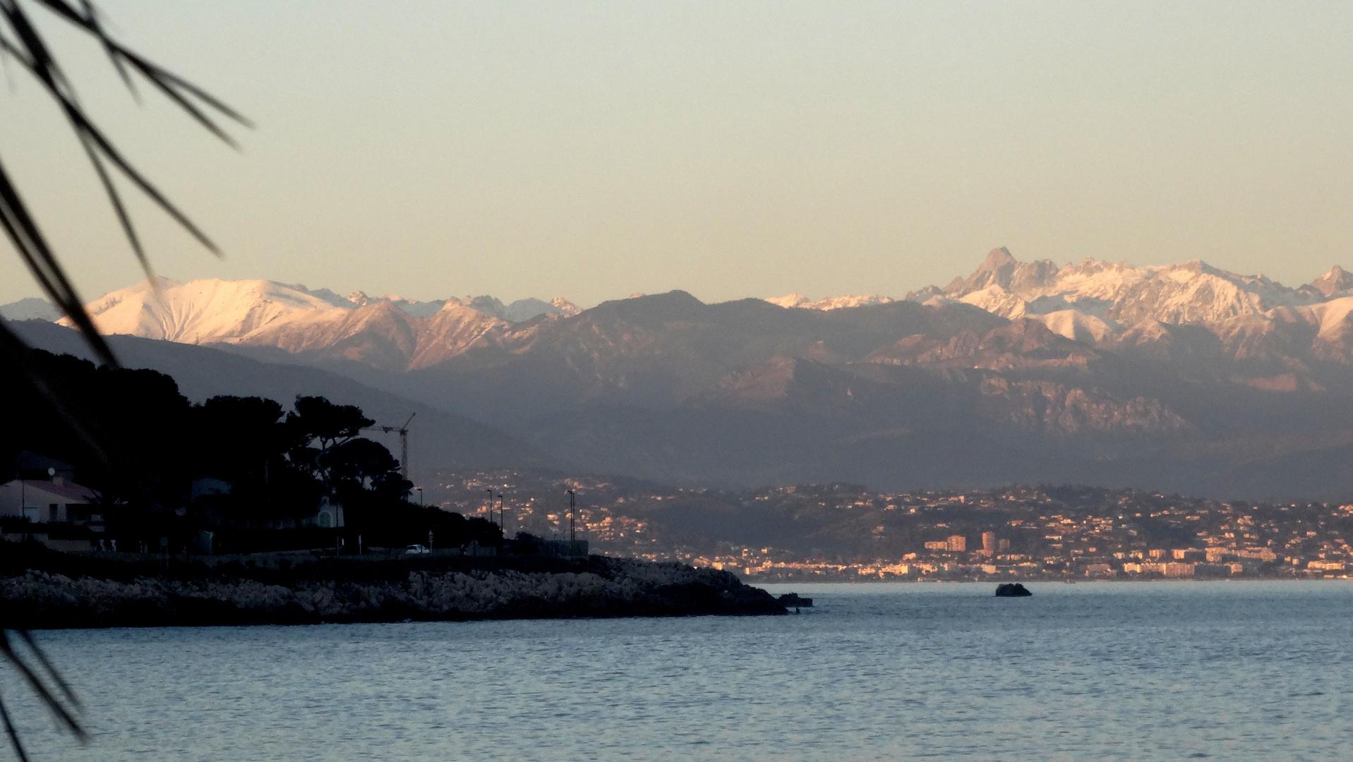 Première neige sur Arrière Pays de Nice - Erster Schnee im Hinterland von Nizza