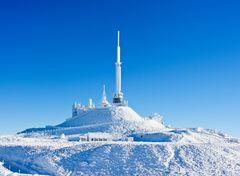 Premières neiges au Puy de Dôme