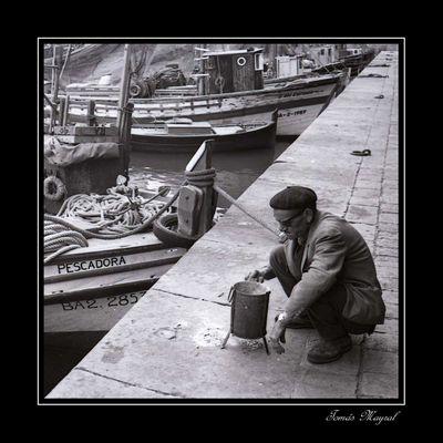 Preparando el Pescado