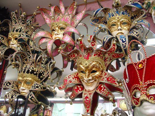 Préparations du Carnaval de Venise