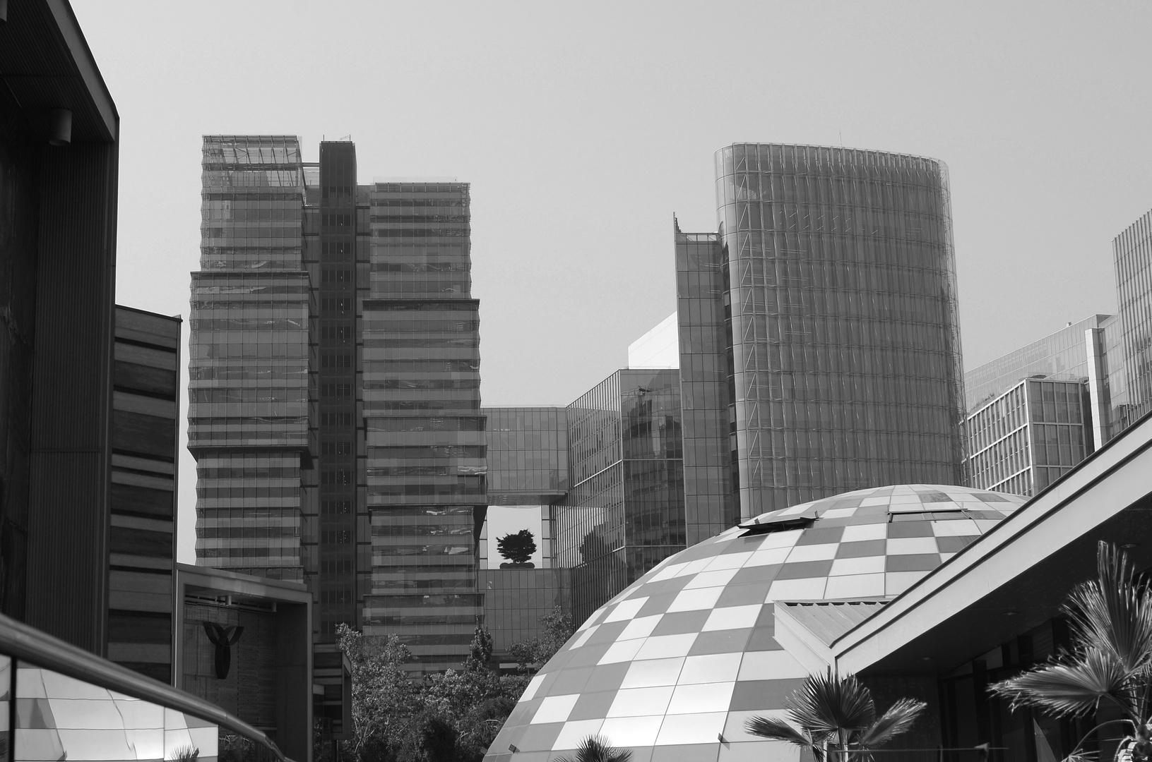 Presidente Riesco Street Buildings