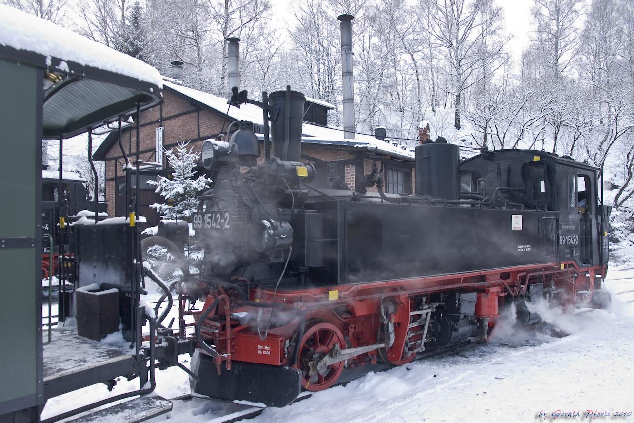 Preßnitztalbahn im Winter...