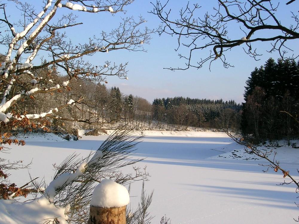 Pûreté naturelle d'un bel hiver