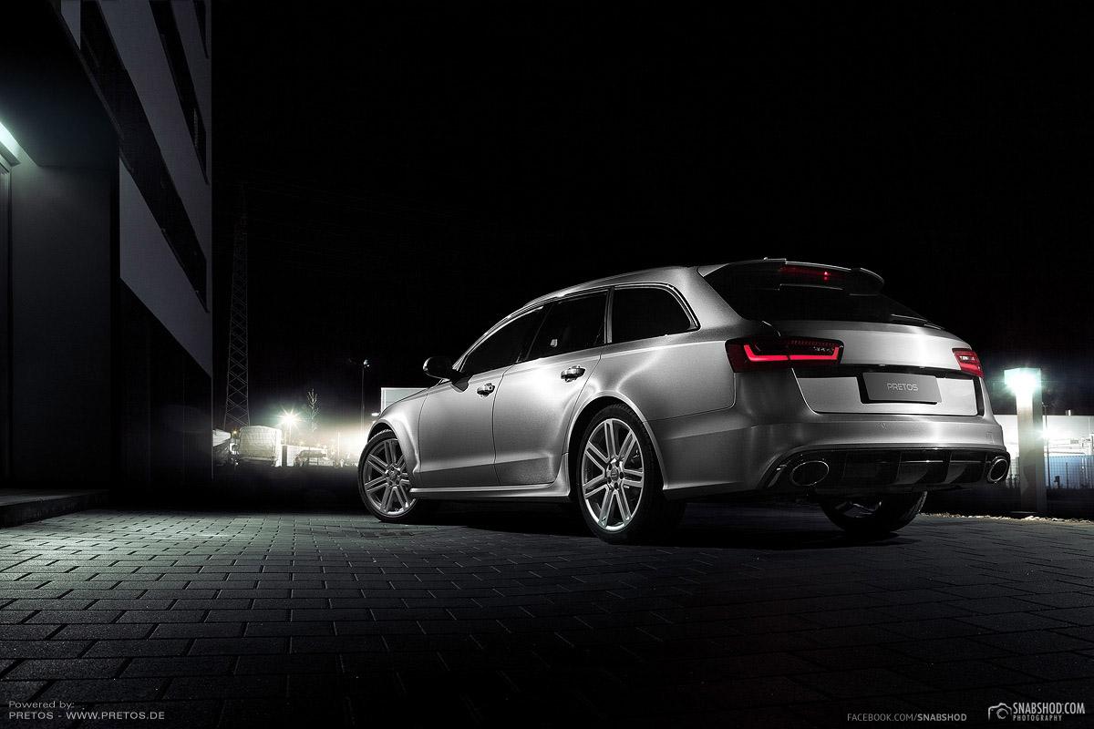 PRETOS.de Audi RS6 brushed titanium #2