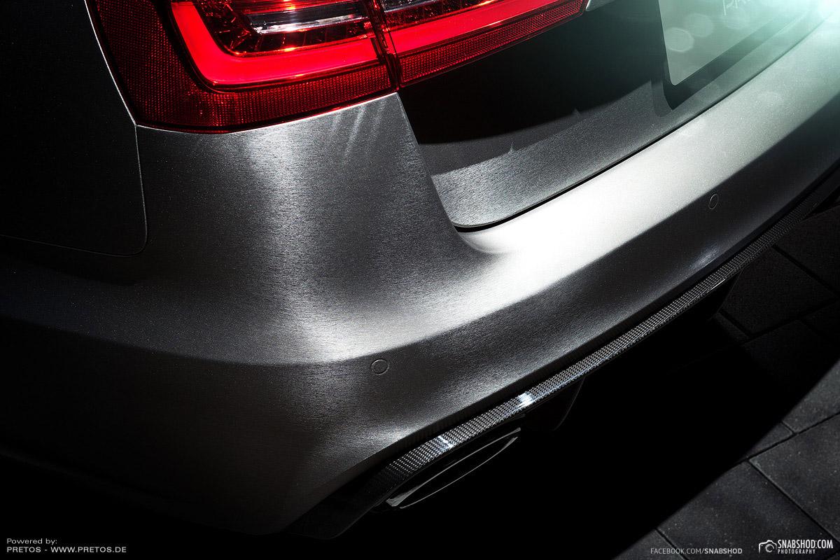 PRETOS.de Audi RS6 brushed titanium #3