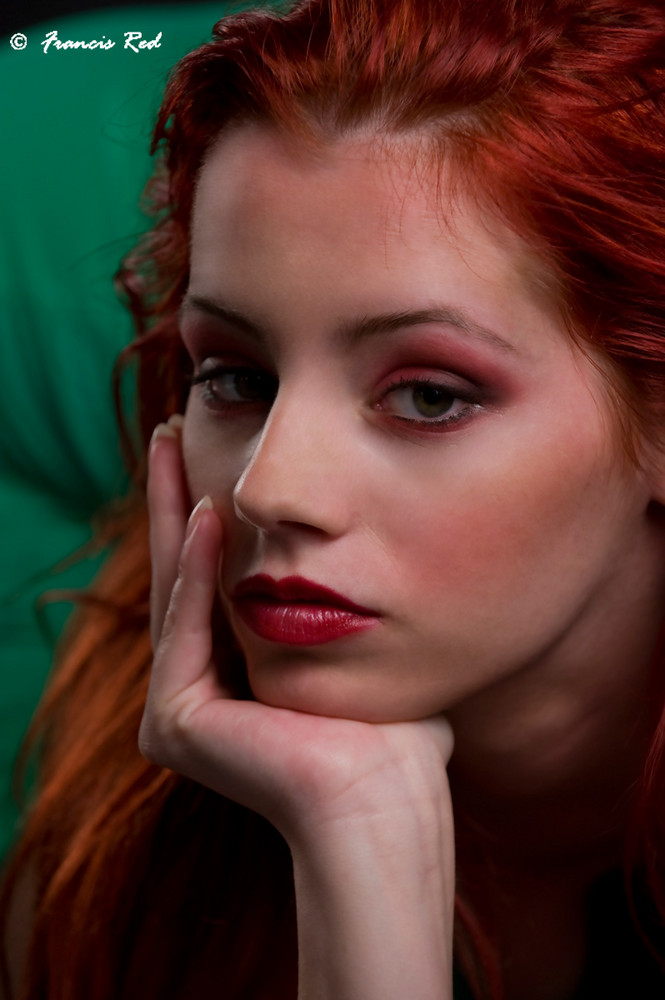 Pretty Redhead - Ariel Portrait