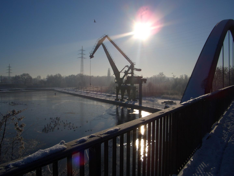 Preussenhafen Januar 2009