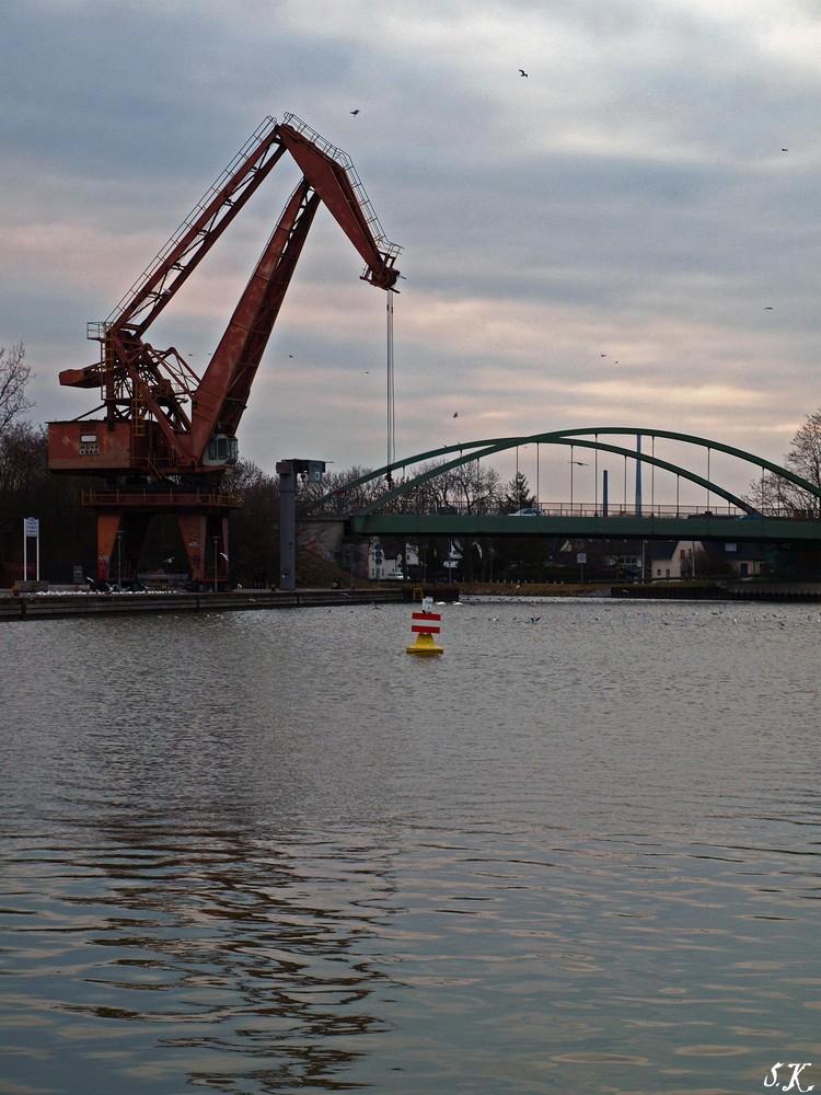 Preußenhafen Lünen, Datteln Hamm Kanal