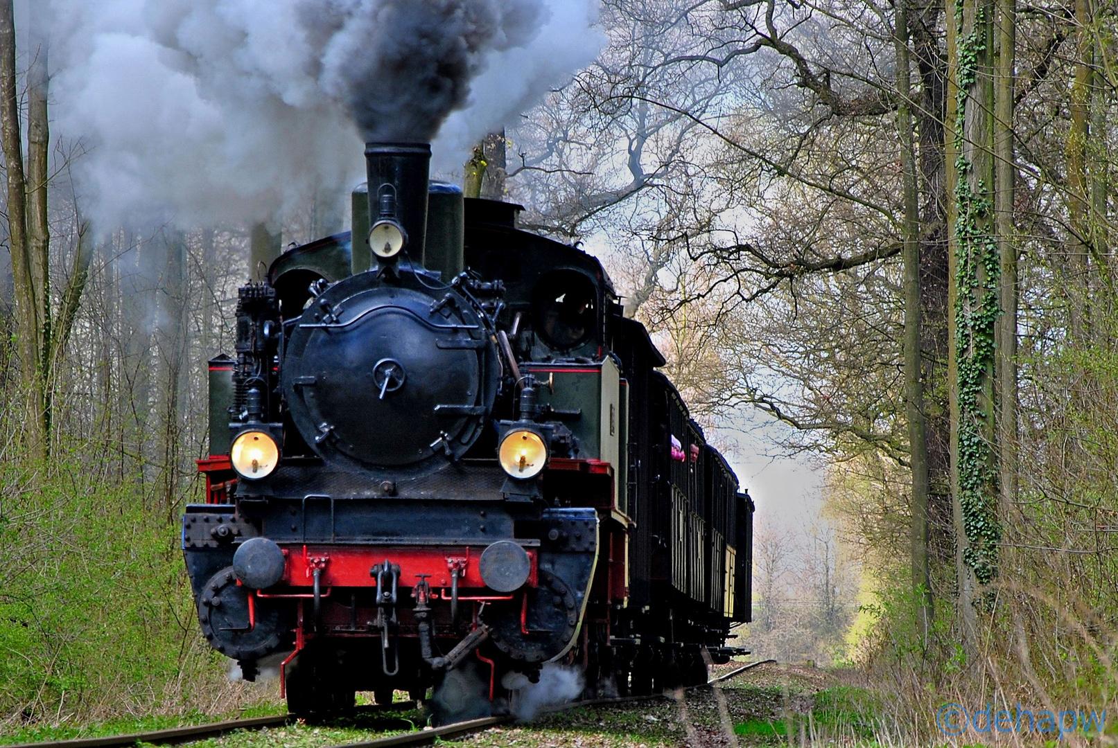 Preußenzug der Museums-Eisenbahn Minden