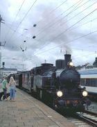 Preußenzug im Bahnhof Altona
