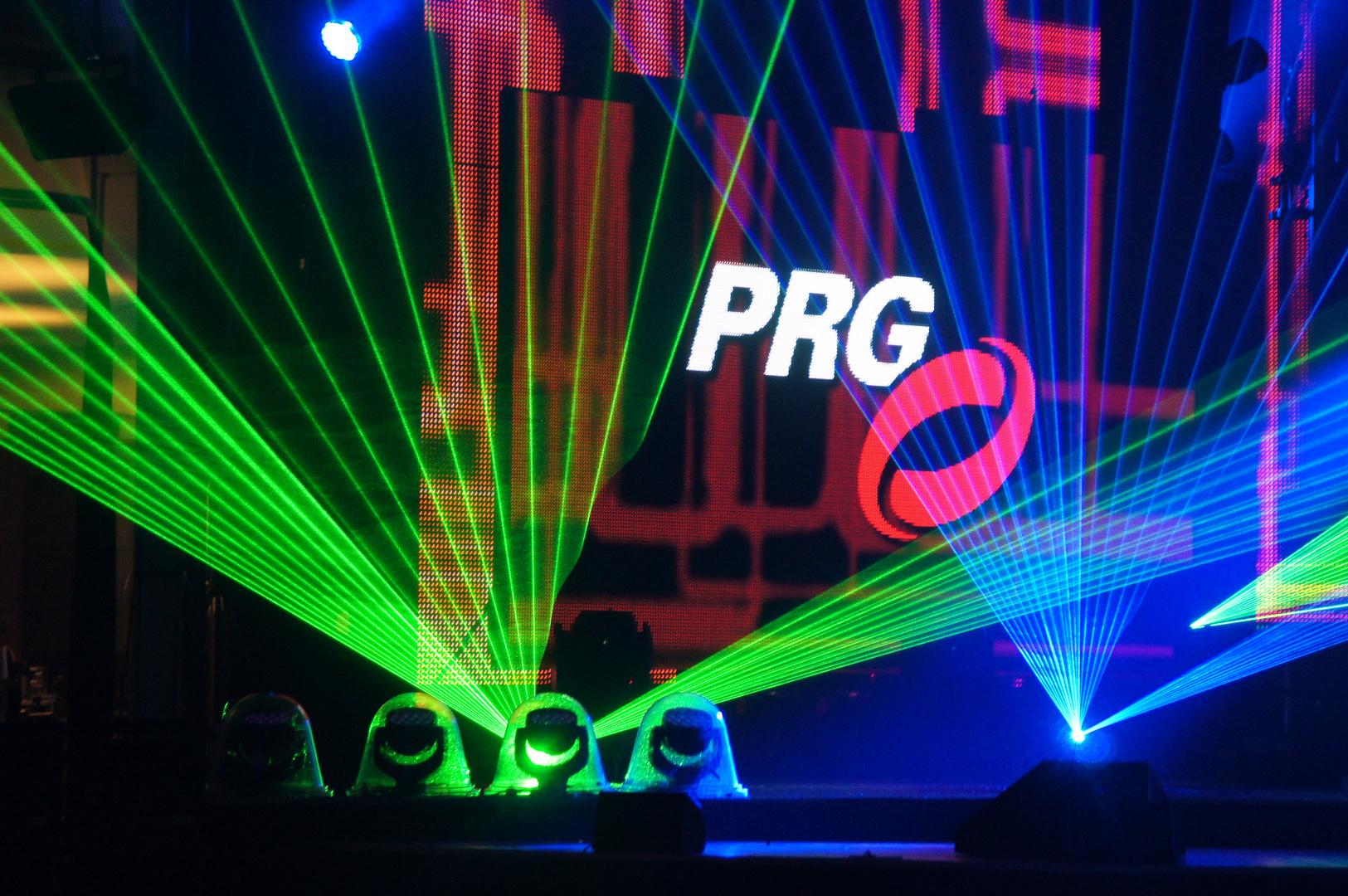 PRG Light and Sound Show: Laser (2)