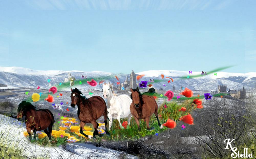 Primavera en Segovia