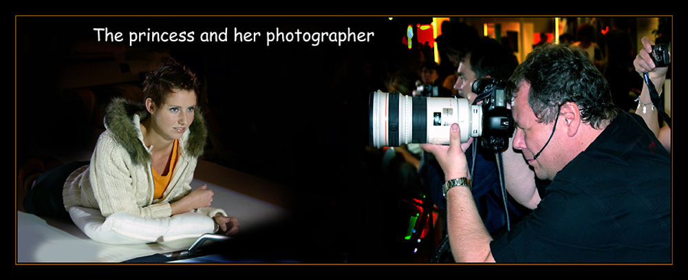 Princess and her photographer