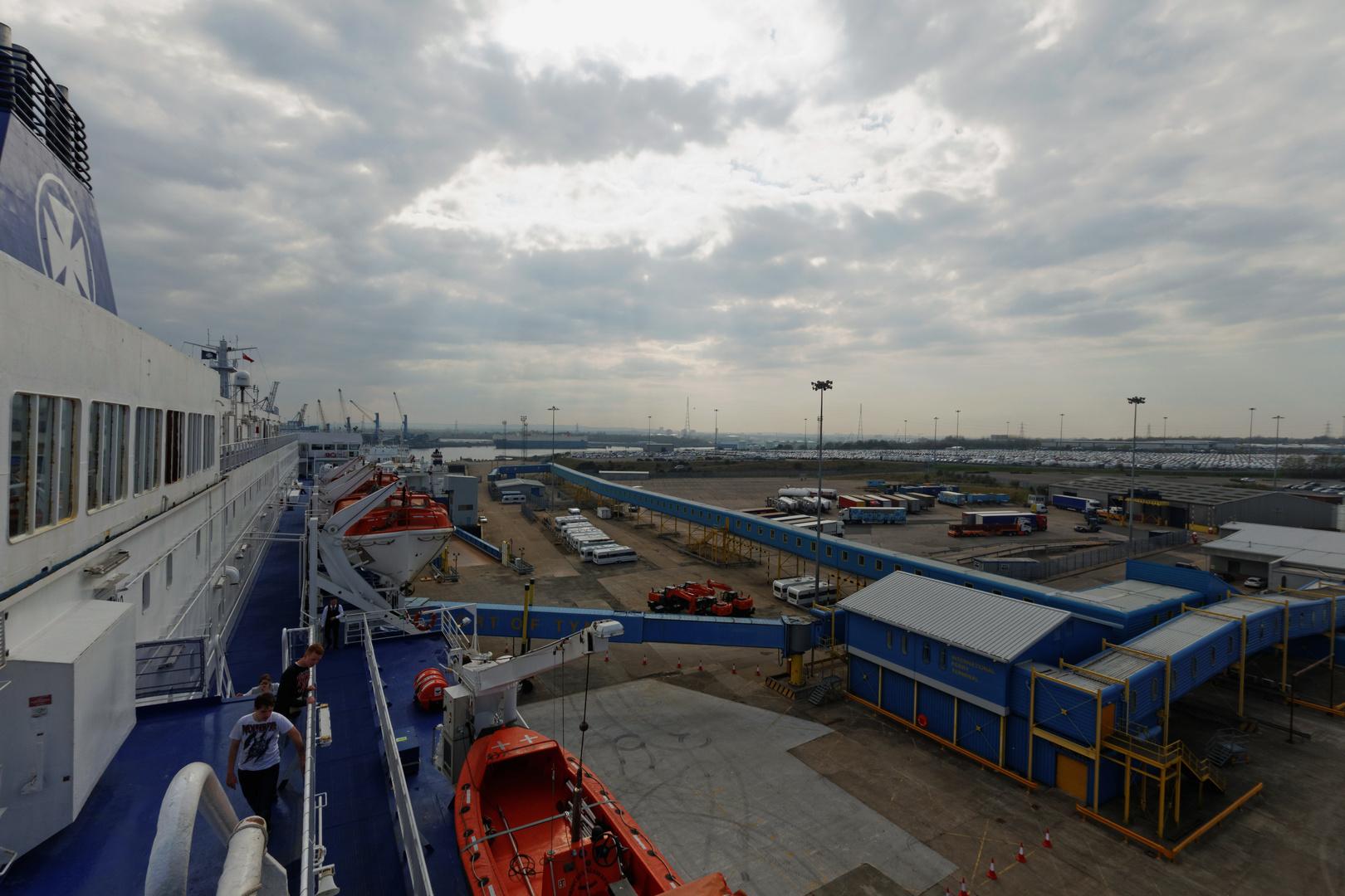 Princess Seaways und Hafen
