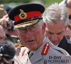 Prinz Charles besucht die britischer Kriegsveteranen in Normandie.