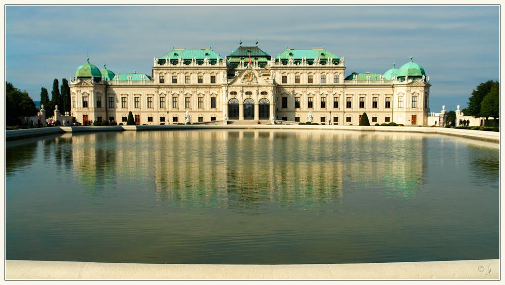 Prinz Eugen Palast, oder Belvédere...