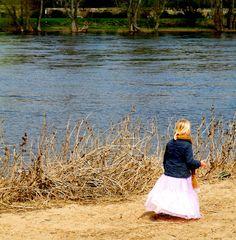 Prinzessin am Fluss