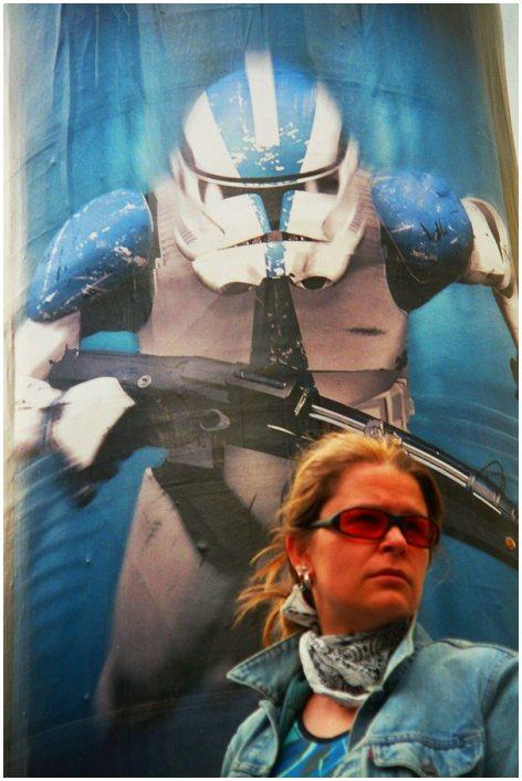 Prinzessin Leia in Gefahr