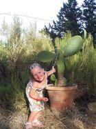 Prinzessin und Kaktus