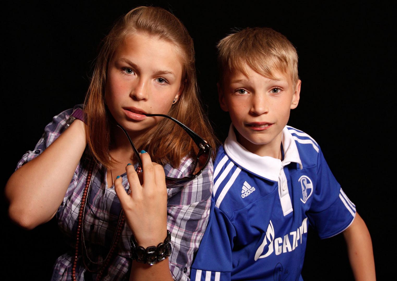 Prinzessin und Schalke-Fan
