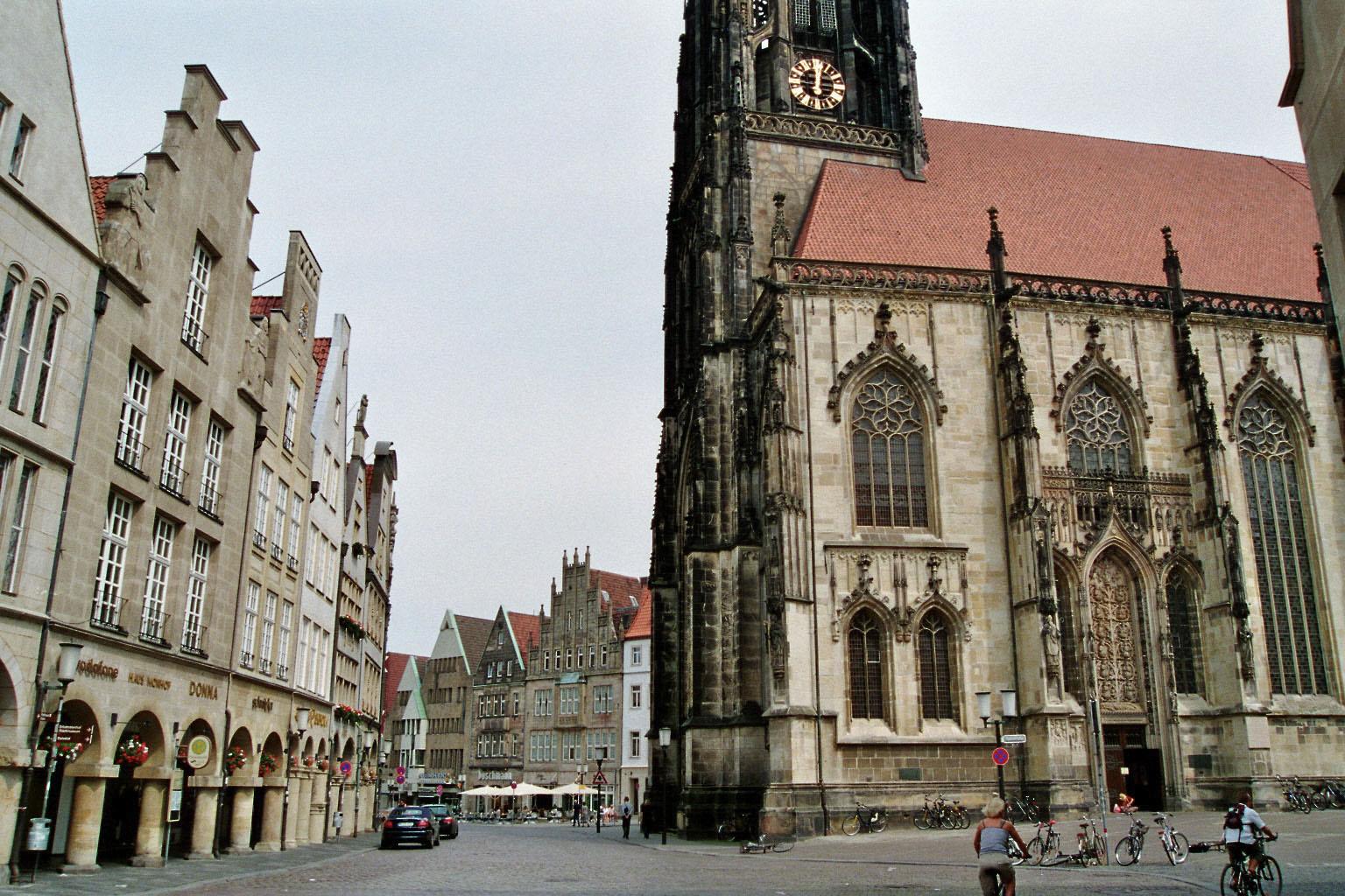 Prinzipalmarkt mit St. Lamberti