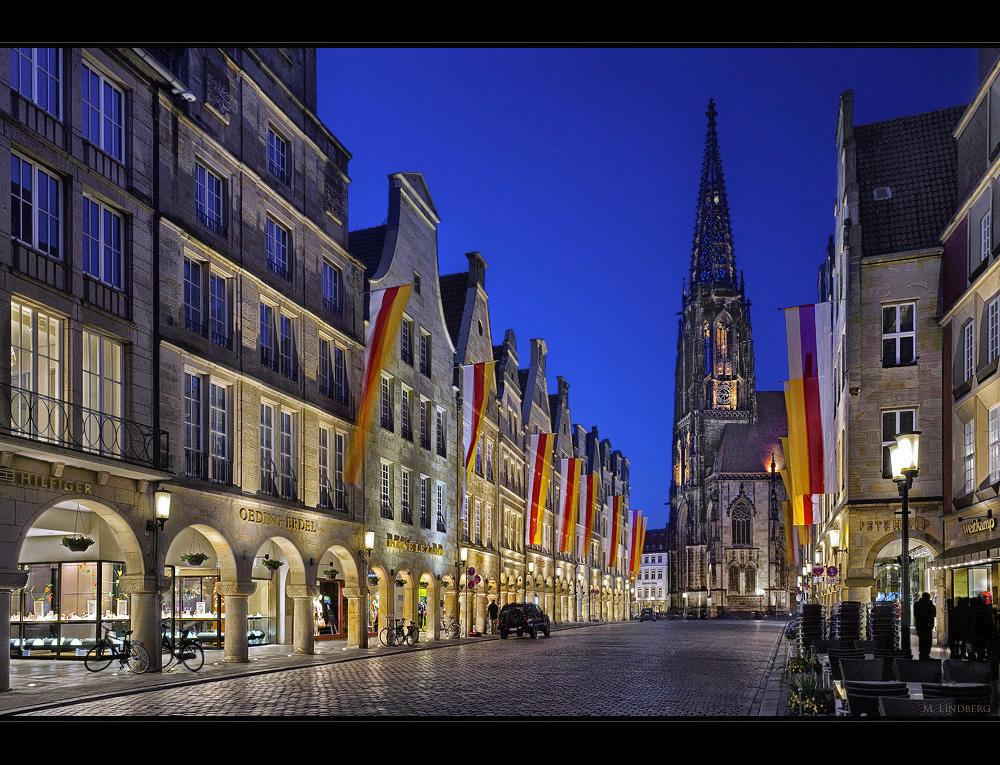Prinzipalmarkt und St. Lamberti, Münster