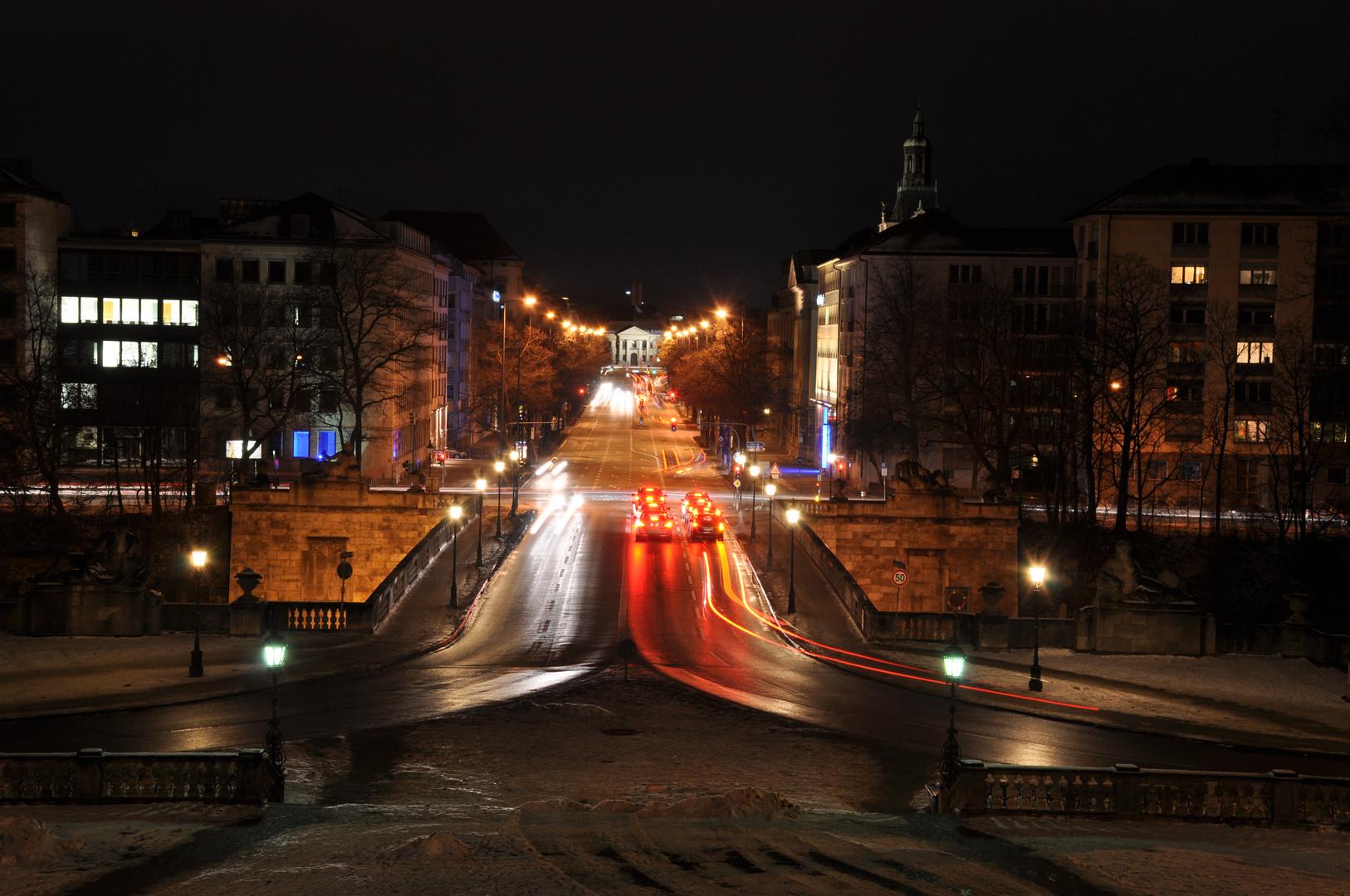 Prinzregentenstreet at night II