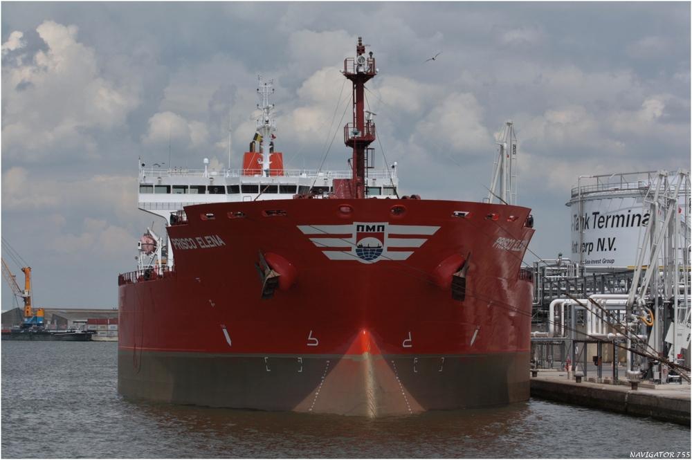 PRISCO ELENA / Oil/chemical Tanker / Antwerpen