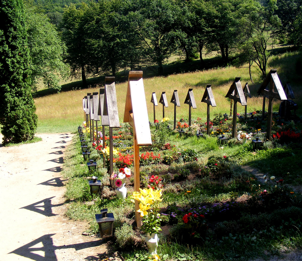 Prislop Monastery - The Graveyard