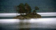 Privat-Insel in Norwegens Setesdal