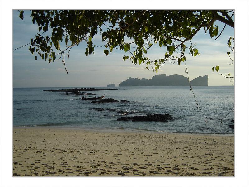 Private beach @ Koh Phi Phi