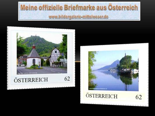 Private Briefmarke Österreich