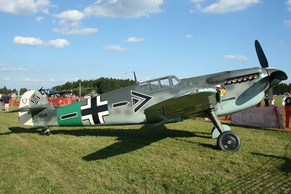 Private Hispano Aviacion HA-1112 Buchon