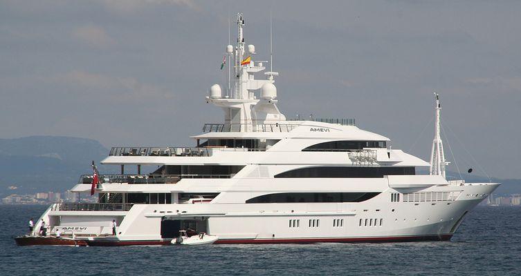 """Private Luxusyacht """"AMEVI"""" vor Mallorca (2007)"""